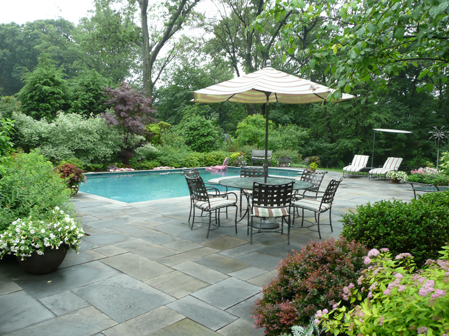 Pin by karen fowler on pools pinterest for Garden pool landscaping